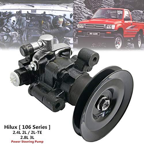 (Power Steering Pump For Toyota Hilux Pickup LN80 LN85 LN86 LN90 LN105 LN106 LN107 LN108 LN109 LN111 LN112 Hilux Surf LN130 LN131 LN135 Dyna Toyoace 2L 2L-T 2L-TE 3L 5L 2.4L 2.8L 3.0L Diesel)