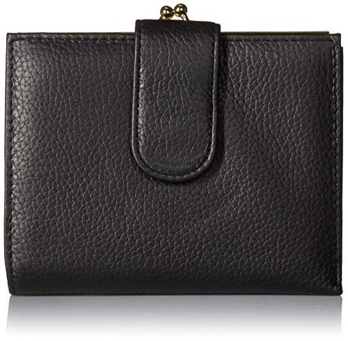 Buxton Chelsea RFID Lexington Wallet, black