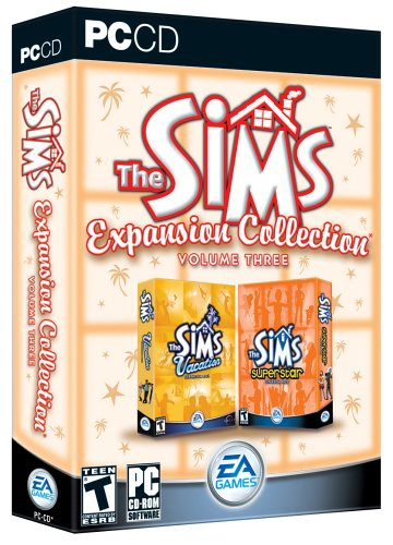 - The Sims Expansion Collection Volume 3: Superstar & Vacation - PC