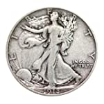 Walking Liberty Half Dollar XF/VF 90%...