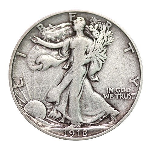Walking Liberty Half Dollar XF/VF 90% Silver Extra Fine Half Dollar Very ()