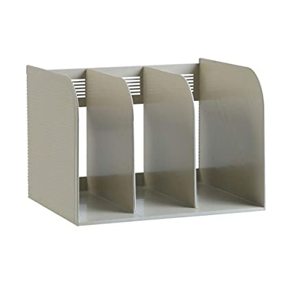 WBBSLJ Bookshelf Plastic Book Holder Partition Bezel On The Table File Rack Storage