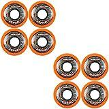 Labeda Asphalt Orange Inline Skate Wheels - 59mm