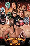 Trends Intl. Lucha Libre Rudos Poster, 24-Inch by 36-Inch