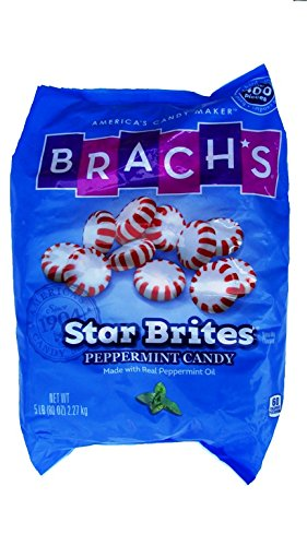 Brachs Star Bites Peppermint Candy, 5 Pound