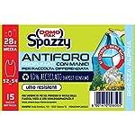 Domopak-Spazzy-Bolsas-de-basura-antiagujero-con-asas–Perfumado-a-la-brisa-Alpina–Casalingo-28-l–Azul–6-paquetes-de-15-unidades