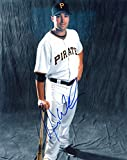 : NEIL WALKER PITTSBURGH PIRATES W/ BAT SIGNED AUTOGRAPHED 8X10 PHOTO W/COA