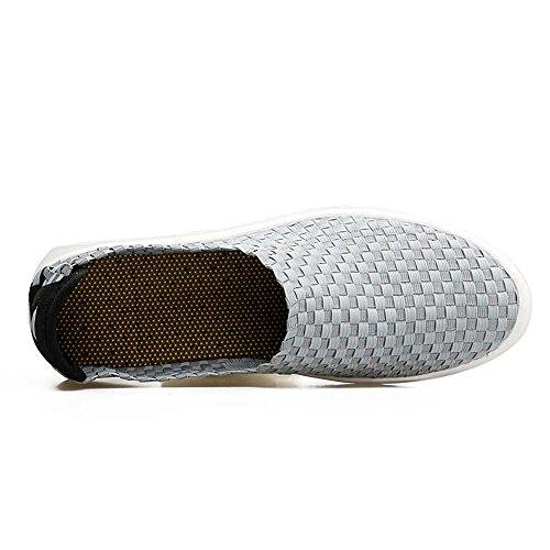 Shape Color Antiscivolo 43 Driving Grigio amp;Baby Sunny Heel Flat EU Suole su Men's scuro Dimensione Classi Loafer Blu comode Spli wOTzTx7nqH