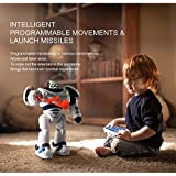 Jack Royal RC Robot Defenders Gesture Control Programmable Movement Missile Shooting Sliding Walking Intelligent Dancing Mode Toys