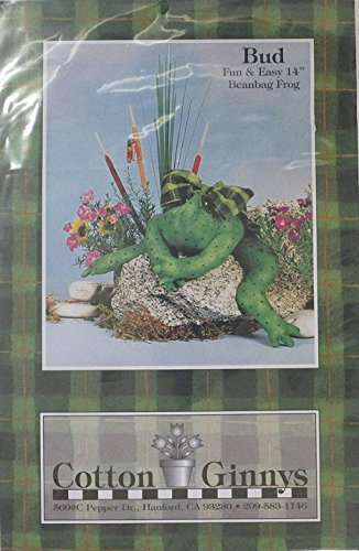 Bud Beanbag Frog Stitching Craft Pattern -