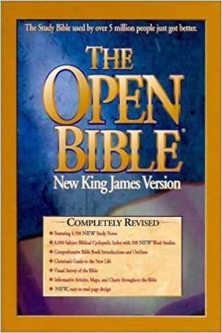 The Open Bible : New King James Version: 9780785204022