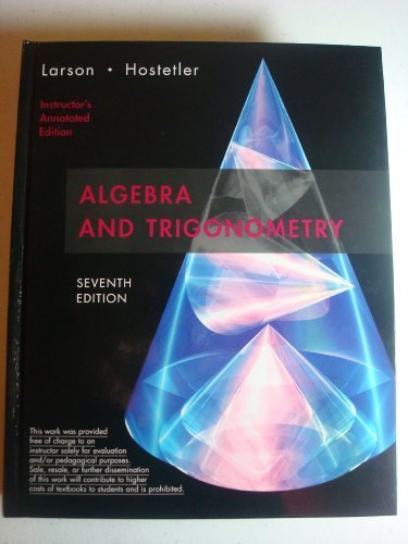 Buy college algebra and trigonometry book online at low prices in.