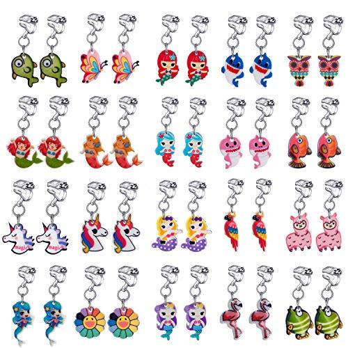 animal clip on earrings - 3