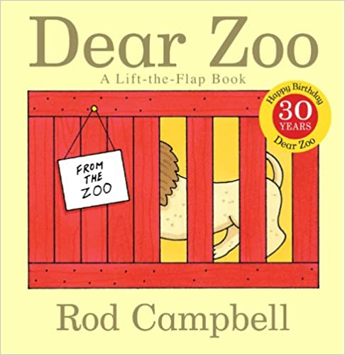Dear Zoo – by Rod Campbell
