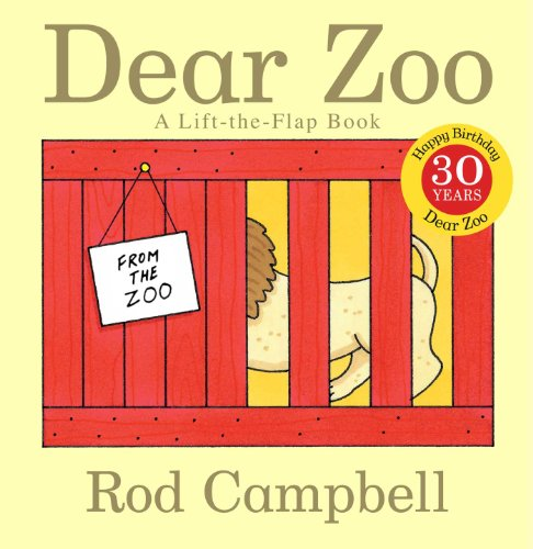 Dear Zoo: A Lift-the-Flap Book cover