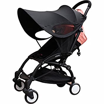 Summer Rayshade Stroller Cover Sunshade Canopy Compatible for Babyzen YoYo and Yoyo+ ROMIRUS YY15S