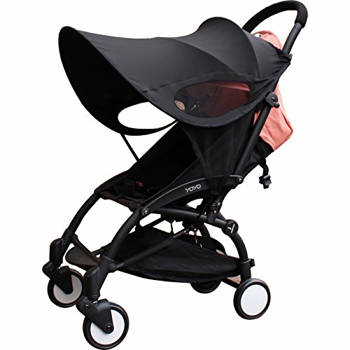 Summer Rayshade Stroller Cover Sunshade Canopy Compatible for Babyzen YoYo and Yoyo+ by ROMIRUS