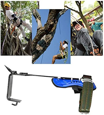 MongKok Tree Pole Climbing Spike Set Safety Belt Straps Portable for Outdoor Fruit Picking