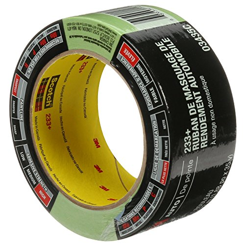 3M 03435 48 mm x 32 m Automotive Performance Masking Tape ()