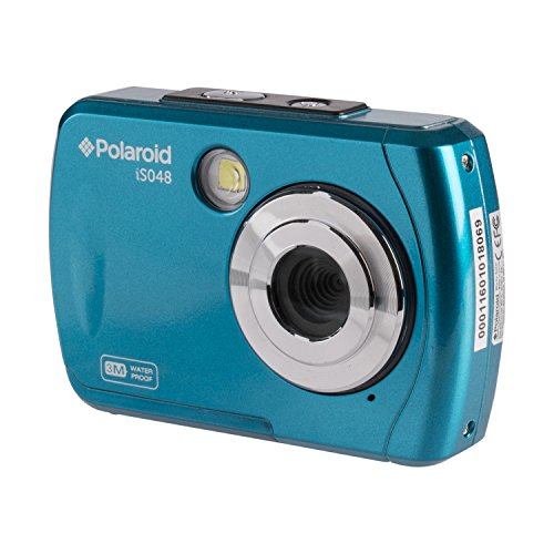 Polaroid IS048 Waterproof Instant Sharing 16 MP Digital Portable Handheld Action Camera, Teal by Polaroid