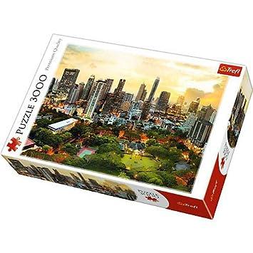 Coucher Puzzle Trefl 3000 Pièces Soleil Bangkok 33060 À De Ygbfv7y6