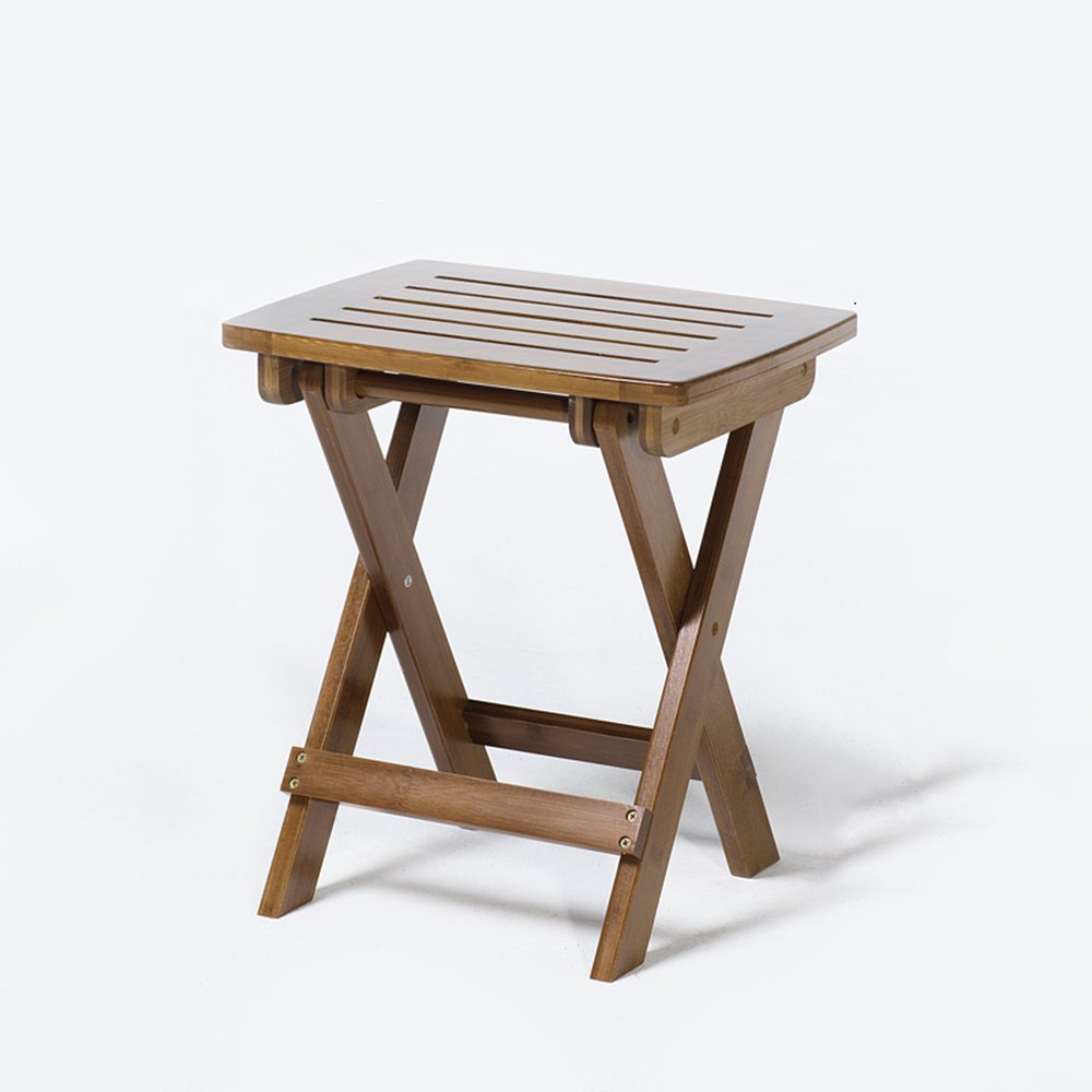 GYH Flower stand LJHA huajia Solid Wood Stool Learning Chair Children's Desk Foldable Writing Desk Home Student desks and Chairs Solid Wood Tables and Chairs (Size Optional) by GYH Flower stand