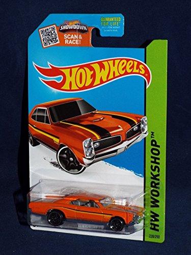 Hot Wheels, 2015 HW Workshop, '67 Pontiac GTO [Orange] 228/250