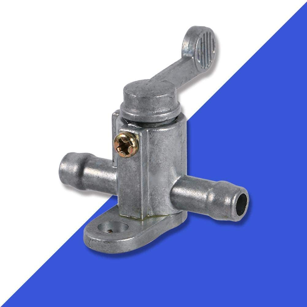 Fuel Switch 8mm 5//16 Inline Fuel Tap Aluminum In-Line Motorcycle Fuel Tap to Protect Motorbike Tank