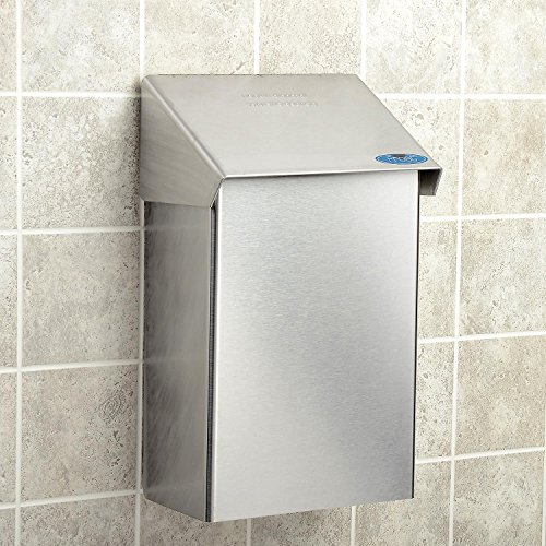 Frost 622 Napkin and Tampon Disposal, Metallic