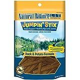 Natural Balance L.I.T. Limited Ingredient Treats Jumpin' Stix Duck & Potato Formula Dog Treats, 5-Ounce