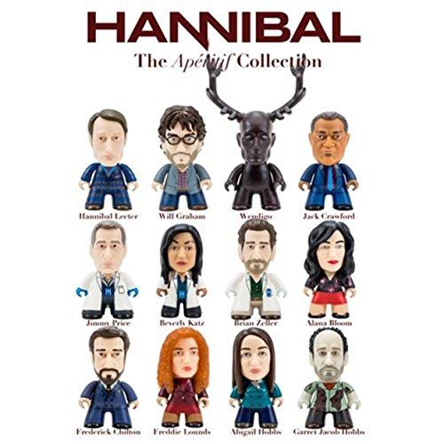 Case Of 20 - Hannibal TV Aperitif Coll. Random Mini-Figure Display (Coll Box)