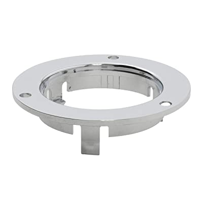 "GG Grand General 87220 2"" Round Sealed Light (Clear Plastic Flange Mount Rim for 2""): Automotive"