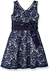 Girls' Lace Party Dress