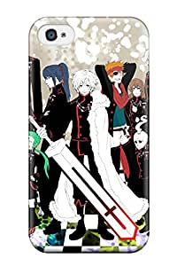 Hot 5736155K27085141 Sanp On Case Cover Protector For Iphone 4/4s (d Gray Man Characters)