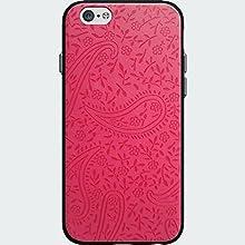 Oem Verizon Milk and Honey Pink Paisley Case for Iphone 6 4.7