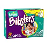 : Pampers Bibsters, Sesame Street, Small, 20-Count Boxes (Pack of 6) (120 Disposable Bibs)