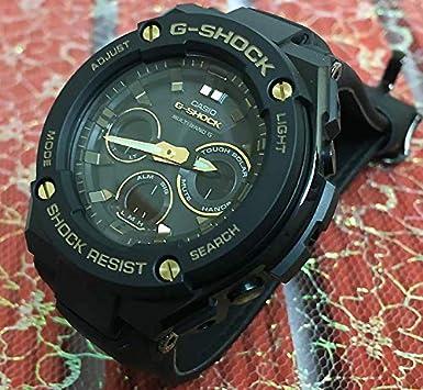 93612ca6f4 Amazon   カシオ CASIO 腕時計 G-SHOCK Gショック ウォッチ メンズ ジーショック GST-W300GL-1AJF 国内正規品    CASIO(カシオ)   腕時計 通販