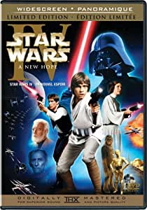 Star Wars Episode IV: A New Hope (Widescreen Limited Edition) (Bilingual)