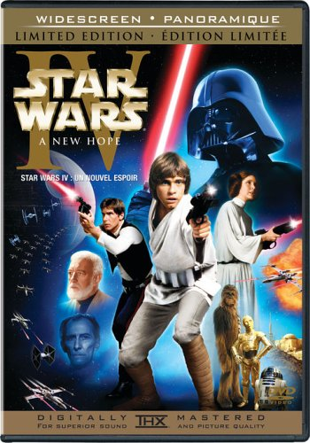 Amazon Com Star Wars Episode Iv A New Hope Widescreen Limited Edition Movies Tv
