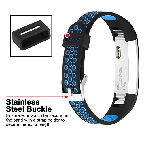 iGK For Fitbit Alta Bands and Fitbit Alta HR Bands, Newest Adjustable Sport Strap Replacement Bands for Fitbit Alta and Fitbit Alta HR Smartwatch Fitness Wristbands