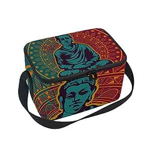 Buddah Buddhism - Bolsa térmica para el almuerzo, diseño de budista