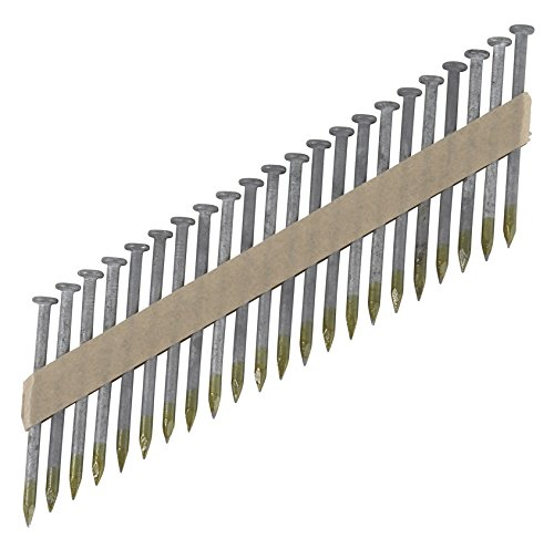 Hitachi 17134 1-1/2-Inch x 0.148-Inch Smooth Shank-Heat Treated Hot-Dipped Galvanized Paper Tape Strap Tite Nails, 3000-Pack by Hitachi