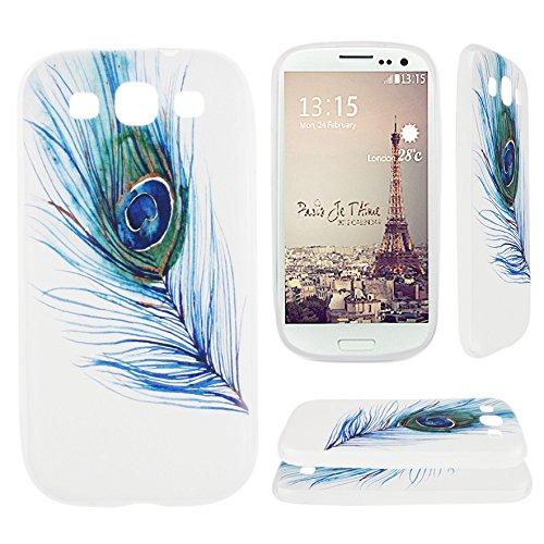 14 opinioni per Galaxy S3 i9300 / S3 Neo i9301 cover in silicone, Asnlove Custodia case TPU