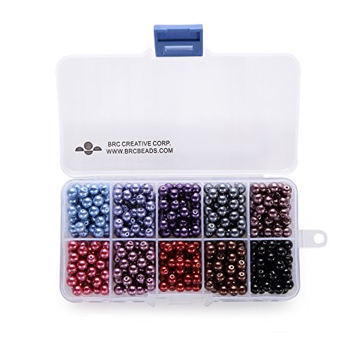 BRCbeads Plastic Container Wholesale Assorted