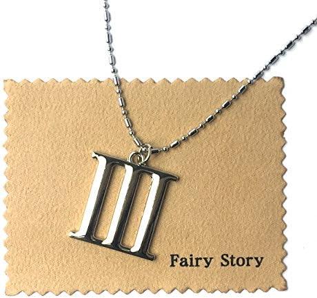 【Fairy Story】 艦隊これくしょん バッジ 艦これ 響 暁 第六駆逐隊 特III型 モチーフ コスプレ ネックレス 【