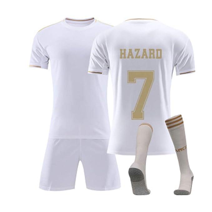 YDYL-LI Chándal de fútbol para niño/Adulto Eden Hazard No. 7 Real ...