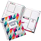 Gratitude Journal 52 Week Daily Positive Thinking for Women & Girls 165 Stickers   Gratitude Finder