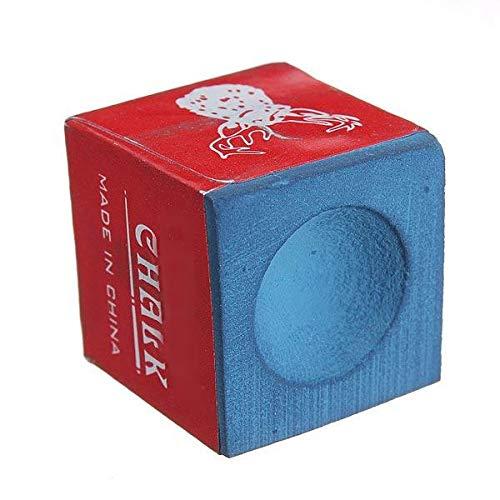 Punta de Taco de Billar Color Rojo y Azul Desconocido QuickShop Tiza para Mesa de Billar