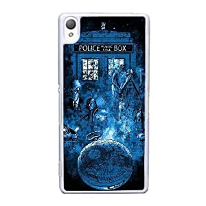 Sony Xperia Z3 Cell Phone Case White Doctor-Who Protective Hard ST1YL6734485