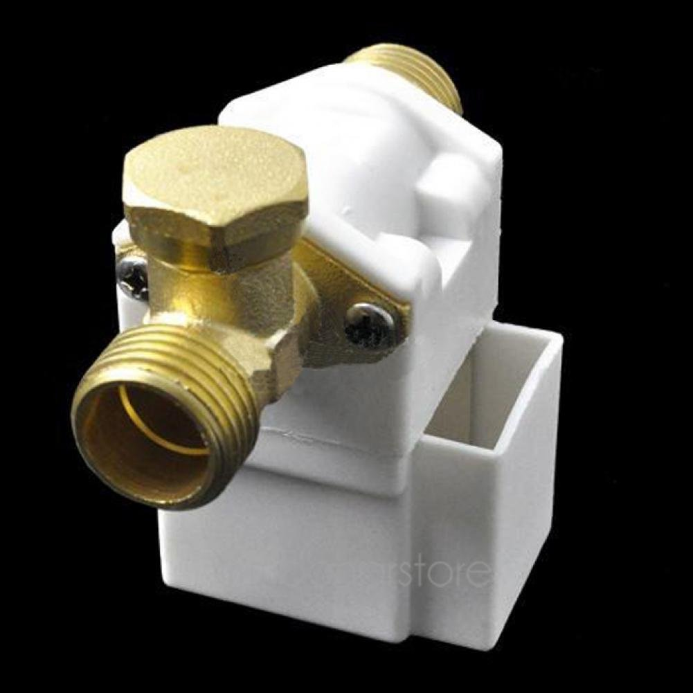 Electric Solenoid Valve for Water Air N/C 12V DC 1/2' hercolor